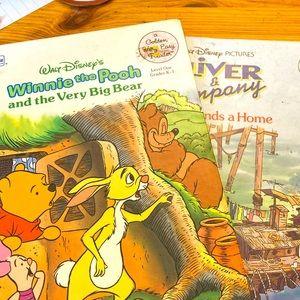 Vintage Winnie the Pooh/ Disney duo